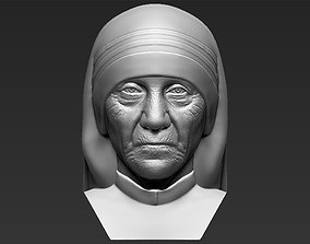 Mother Teresa bust 3D printing ready stl obj formats