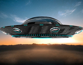 UFO model and texture fantasy