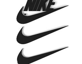 3D symbol Nike logo