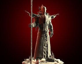 Necromancer posed version Zbrush 3D