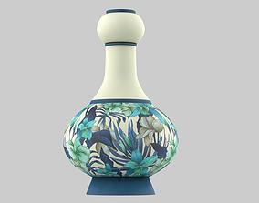 3D PBR Floral Vase Jug