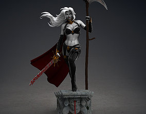 Lady Death - Fan made statue 3D printable model