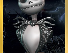 BUSTOS TIM BURTON skeleton 3D model