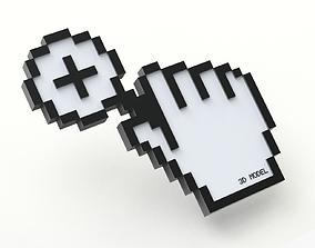 3D Creative Cursor - Magnifier