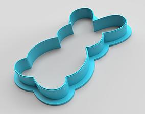 Cookie cutter - Rabbit 2 3D print model
