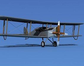 Airco DH-4 Passenger Air Transport 3D model