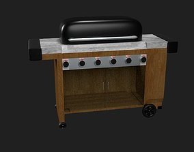 3D model Barbecue Grill
