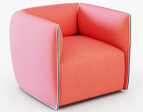 3D model Francesco Bettoni Mia Armchair