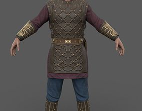 3D model game-ready Harald - Viking - Lowpoly Stylized