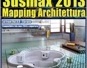3dsmax 2013 Mapping Architettura v 9 Italiano cd front