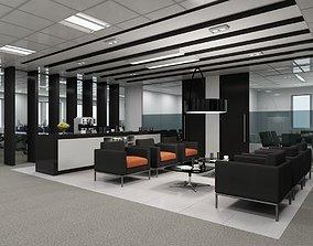 Full Office Interior 21 3D model