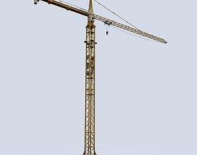 Tower Crane 3D asset game-ready