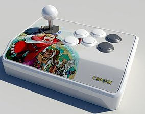 Arcade Fight Stick 3D model