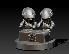 Daft Punk 3D print model