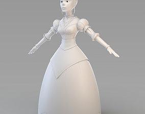 3D model Cartoon Princess 01