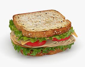 Sandwich 3D model