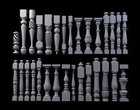 column 3D 30 Baluster