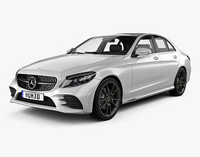 3D Mercedes-Benz C-Class AMG-line sedan 2018