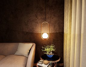 3D model house Pendant Lighting -Revit 2018-