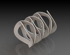Wave Spring 3D printable model