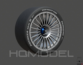 Generic Tire Standard PBR 3D asset