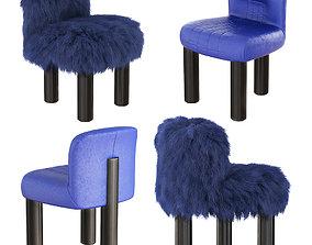 3D model Botolo High Armchair