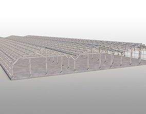 3D model Steel Construction outdoor-structure
