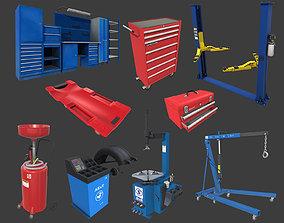 Autoservice Props Pack 3D model