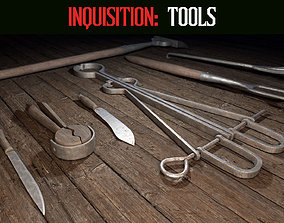 Inquisition - Tools 3D asset