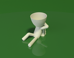 3D printable model Relaxing the big head