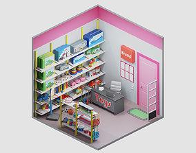3D asset room 19