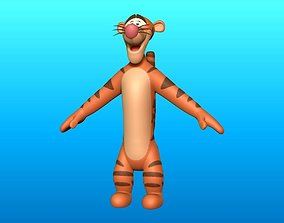 3D model Tigger Optimize