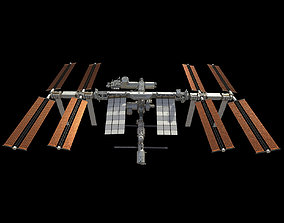International Space Station ISS 2019 3D