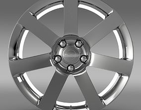 Chrysler 300 SRT8 rim 3D model