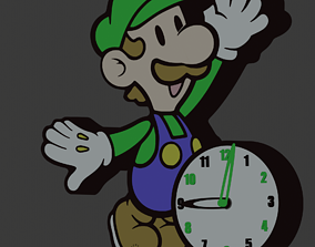 Clock of Luigi 3D printable model
