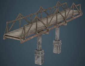 Plank Bridge 3B 3D asset