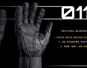 Tactical Gloves 011 3D model