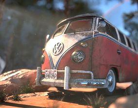Volkswagen Type 1 Van 3D