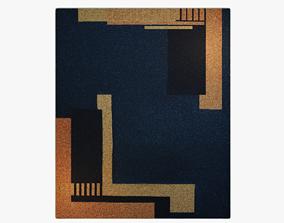 Art Deco style carpet 06 artdeco 3D model