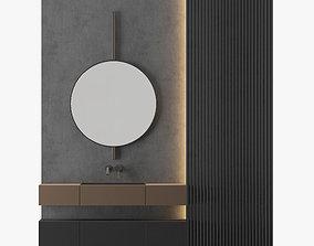 MODERN - Gray Bathroom-04 3D