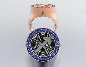 Zodiac Ring 3D printable model