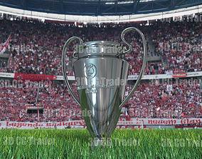 3D model champions league cup