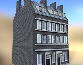 3D model No 10 Downing Street for DAZ Studio