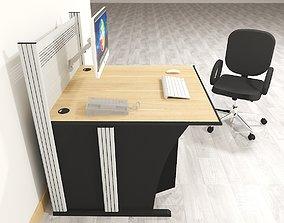 OFFICE TABLE -DESK 3D asset