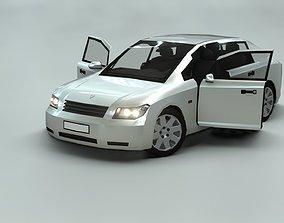 3D model Affekta A212 Classic Concept Car with interior
