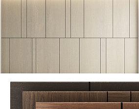 3D model Decorative wall panel set 6