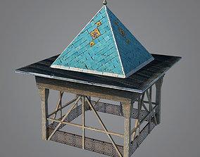 3D model game-ready Minaret
