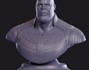3D printable model hulk Thanos