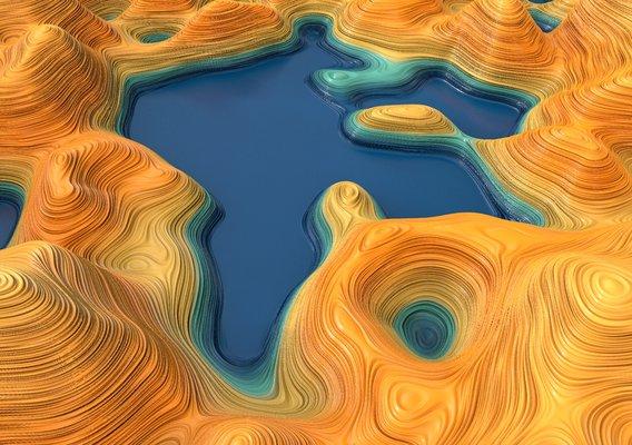 Environment Model - Canyon