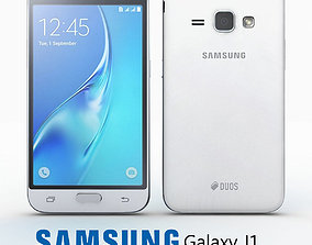 3D Samsung J1 2016 White